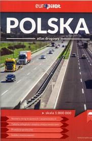 POLSKA ATLAS DROGOWY 1:800 000 MINI EUROPILOT 2017/2018