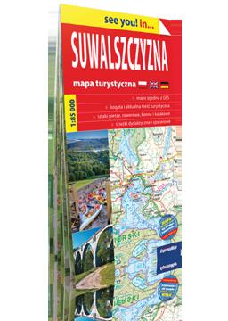 SUWALSZCZYZNA papierowa mapa turystyczna EXPRESSMAP