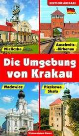 OKOLICE KRAKOWA przewodnik wer.niemiecka GAUSS 2016 !!