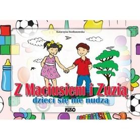 Z Maciusiem i Zuzią dzieci się nie nudzą ćwiczenia dla dzieci 5-6lat NIKO