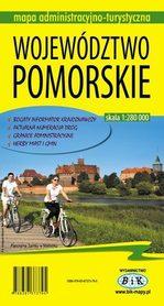 WOJEWÓDZTWO POMORSKIE mapa administracyjno-turystyczna 1:280 000 wyd. BiK