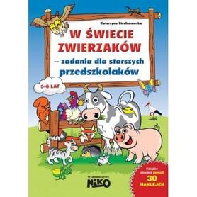 W ŚWIECIE ZWIERZAKÓW zadania dla starszych przedszkolaków wyd. NIKO