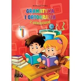 GRAMATYKA I ORTOGRAFIA Z UŚMIECHEM klasa 1 wyd. NIKO