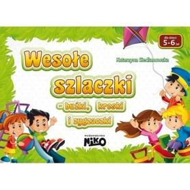 WESOŁE SZLACZKI dla dzieci 5-6 lat wyd. NIKO