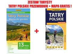 TATRY POLSKIE PRZEWODNIK + MAPA GRATIS ! 2015