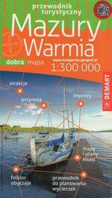 MAZURY I WARMIA przewodnik z mapami DEMART