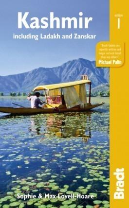 KASZMIR INDIE PAKISTAN przewodnik turystyczny BRADT