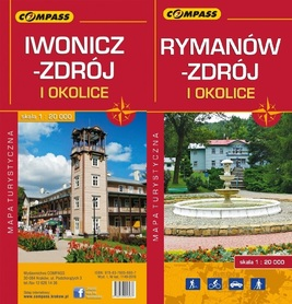 IWONICZ ZDRÓJ I RYMANÓW ZDRÓJ mapa turystyczna 1: 20 000 COMPASS 2016