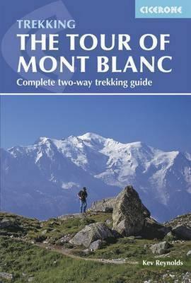 TREKKING THE TOUR OF MONT BLANC przewodnik CICERONE