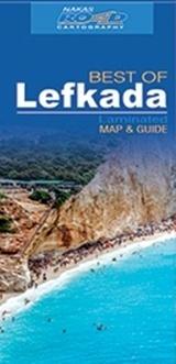 BEST OF LEFKADA laminowana mapa turystyczna 1:60 000 ROAD EDITIONS
