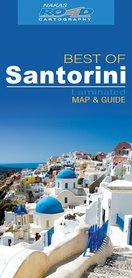 BEST OF SANTORINI laminowana mapa turystyczna 1:45 000 Nakas Road Cartography