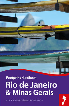 RIO DE JANEIRO & MINAS GERAIS przewodnik turystyczny HANDBOOK FOOTPRINT