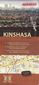 KINSHASA KINSZASA  plany miasta wyd. AQUATERRA