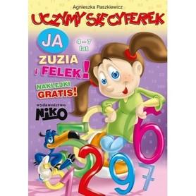 UCZYMY SIĘ CYFEREK Ja Zuzia i Felek 4-7lat wyd. NIKO 2016