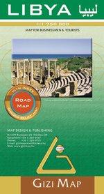 LIBIA mapa samochodowa 1:1 750 000 (Libya Road Map) GIZIMAP