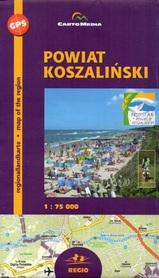 POWIAT KOSZALIŃSKI Koszalin mapa turystyczna 1:75 000 CARTOMEDIA