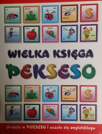 WIELKA KSIĘGA PEKSESO gra typu memory ucząca angielskiego i nie tylko LESTAR 2016