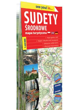 SUDETY ŚRODKOWE papierowa mapa turystyczna 1:60 000 EXPRESSMAP