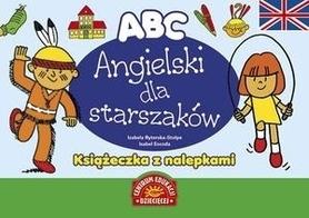 ANGIELSKI DLA STARSZAKÓW Książeczka z nalepkami wydawnictwo PUBLICAT