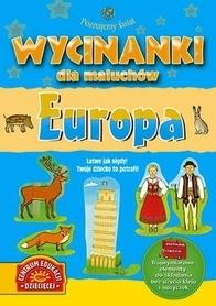 EUROPA WYCINANKI DLA MALUCHÓW wydawnictwo PUBLICAT