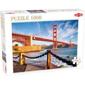ZATOKA SAN FRANCISCO   Puzzle 1000 elementów TACTIC