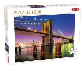 BRIDGE OVER EAST RIVER Puzzle 1000 elementów TACTIC