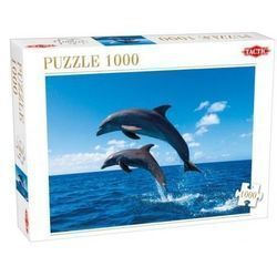 DWA SKACZĄCE DELFINY Puzzle 1000 elementów TACTIC