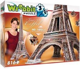 WIEŻA EIFFLA WREBBIT 3D PUZZLE 816 elementów TACTIC