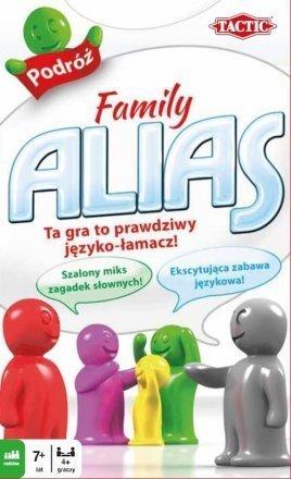 FAMILY ALIAS WERSJA PODRÓŻNA GRA PLANSZOWA TACTIC