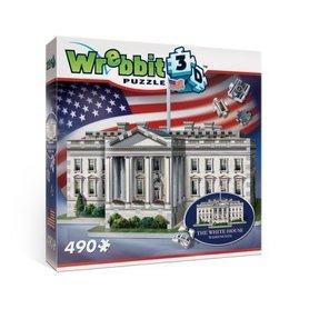 BIAŁY DOM WHITE HOUSE WREBBIT 3D PUZZLE 490 elementów TACTIC