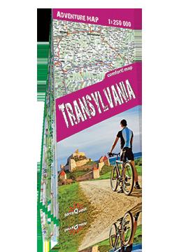 TRANSYLWANIA SIEDMIOGRÓD Adventure Map laminowana mapa turystyczna 1:250 000 EXPRESSMAP