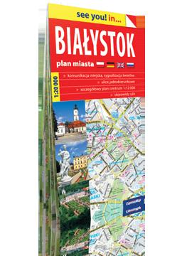 BIAŁYSTOK papierowy plan miasta 1:20 000 EXPRESSMAP