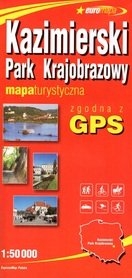 KAZIMIERSKI PARK KRAJOBRAZOWY papierowa mapa turystyczna 1:50 000 EXPRESSMAP