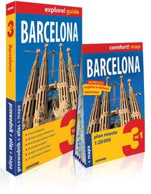 BARCELONA 3w1 przewodnik + atlas + mapa wersja angielska EXPRESSMAP