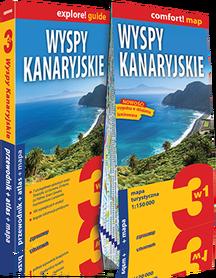 WYSPY KANARYJSKIE 3w1 PRZEWODNIK + ATLAS + MAPA EXPRESSMAP 2018