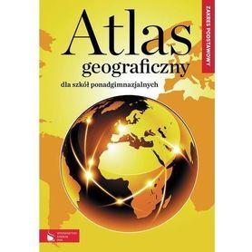 ATLAS GEOGRAFICZNY dla szkół ponadgimnazjalnych zakres podstawowy wydawnictwo szkolne PWN
