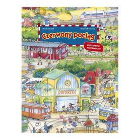 CZERWONY POCIĄG Książka dla dzieci z serii szukaj, baw się, znajduj wyd. DEBIT