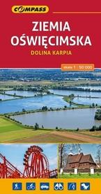 ZIEMIA OŚWIĘCIMSKA DOLINA KARPIA mapa turystyczna 1:50 000 COMPASS 2017