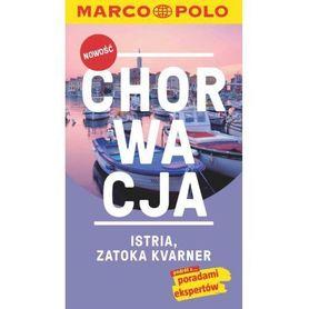 CHORWACJA ISTRIA ZATOKA KVARNER przewodnik + mapa MARCO POLO