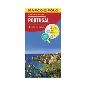 PORTUGALIA mapa samochodowa 1:300 000 MARCO POLO ZOOM 2017