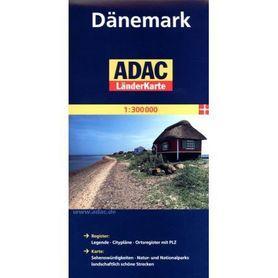 DANIA mapa samochodowa 1:300 000 ADAC
