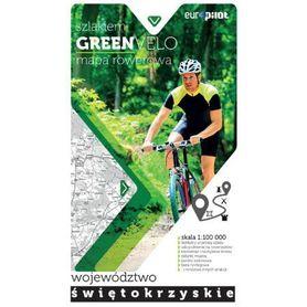 GREEN VELO cz.7 woj. ŚWIĘTOKRZYSKIE mapa tras rowerowych EUROPILOT 2017