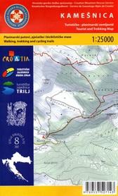 KAMESNICA GÓRY DYNARSKIE mapa turystyczna 1:25 000 wyd. HGSS