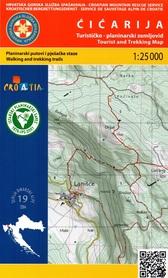 CICARIJA GÓRY DYNARSKIE mapa turystyczna 1:25 000 wyd. HGSS