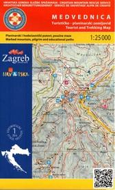 MEDVEDNICA PANOŃSKIE GÓRY WYSPOWE mapa turystyczna 1:25 000 wyd. HGSS