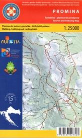 PROMINA DALMACJA CHORWACJA mapa turystyczna 1:25 000 wyd. HGSS