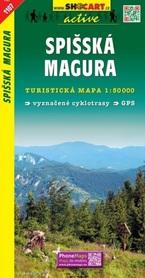 MAGURA SPISKA mapa turystyczna 1:50 000 SHOCART