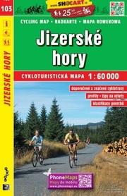 103 GÓRY IZERSKIE CZECHY mapa turystyczna rowerowa 1:60 000 SHOCART