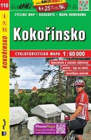 110 KOKORIN Kokořínsko mapa turystyczna rowerowa 1:60 000 SHOCART