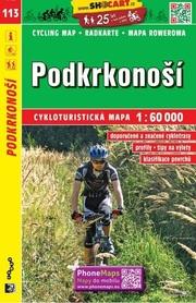 113 PRZEDGÓRZE KARKONOSZY CZECHY mapa turystyczna rowerowa 1:60 000 SHOCART